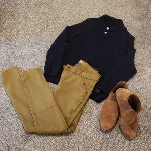 Zara Boys Navy Blue Pullover Sweater 👌 size 11/12